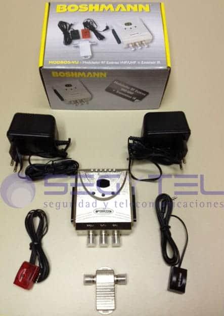 Modulador y transmisor mando a distancia