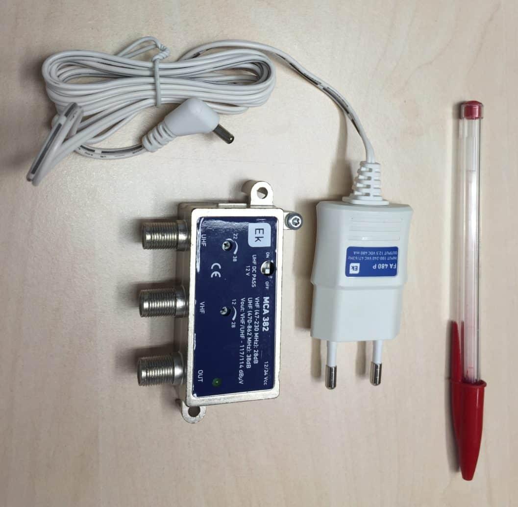 Amplificador tv pequeño