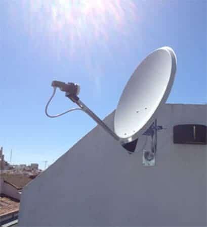 antenas Madrid parabólicas