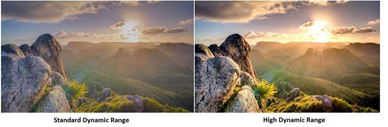 Diferencia entre una imagen normal y otra con un procesado HDR
